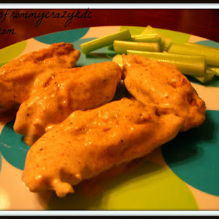 Cajun Ranch Chicken Wings