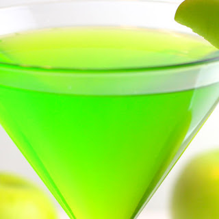 The Naughty Leprechaun Martini