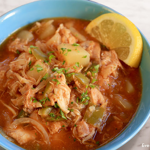 Slow Cooker Cuban-Style Chicken Stew