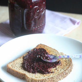 Blueberry Pomegranate Chia Seed Jam