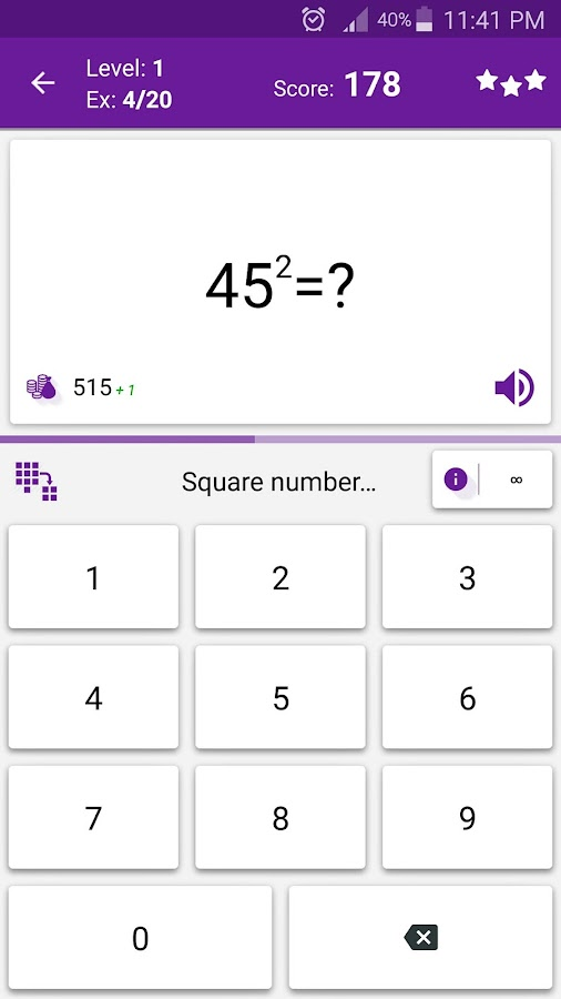 Math Tricks Screenshot 3