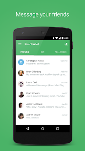 Pushbullet – SMS on PC