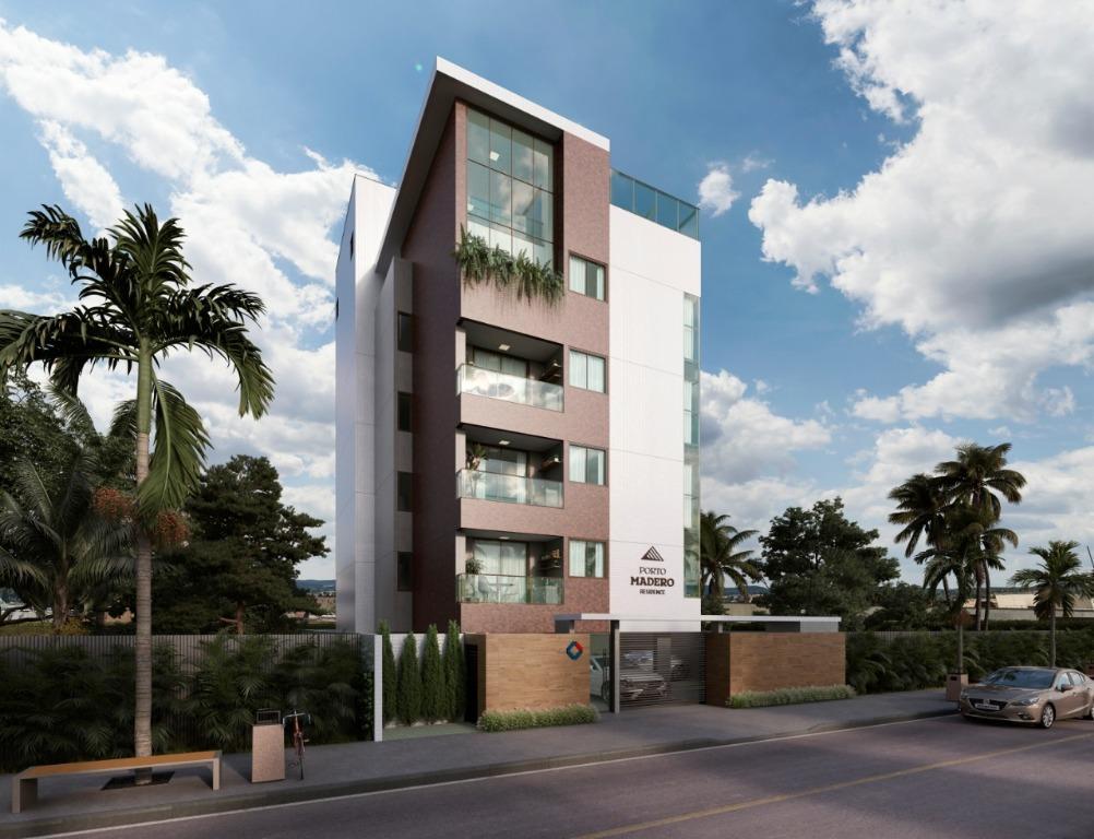 Apartamento com 2 dormitórios à venda, 57 m² por R$ 247.350 - Intermares - Cabedelo/PB