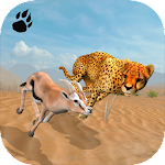 Cheetah Chase Simulator Icon