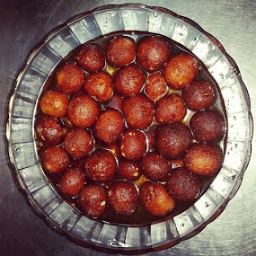 Gulab jamun cravings 😁 by Sumi Ahmed - Food & Drink Cooking & Baking ( asian delicacy, samsung galaxy s5, delicious, homemade, gulab jamun )