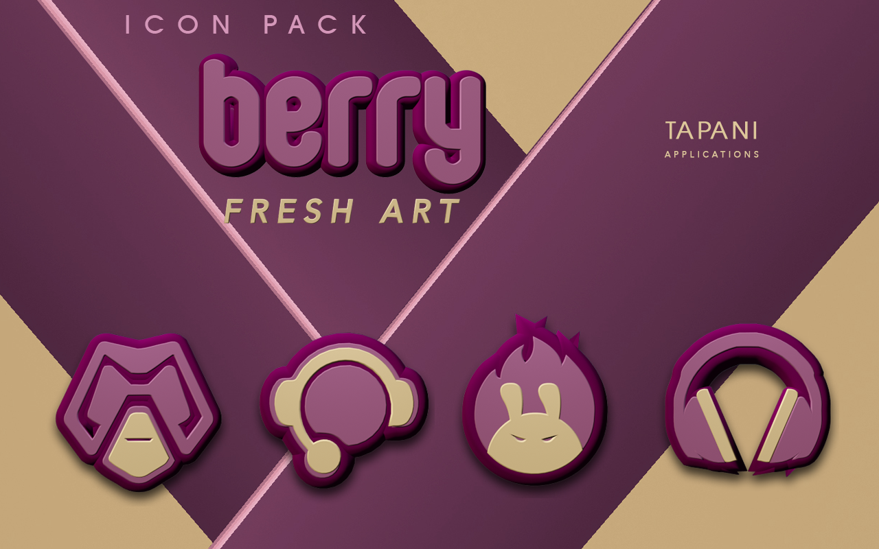 Berry Icon Pack Natural Colors Screenshot 4