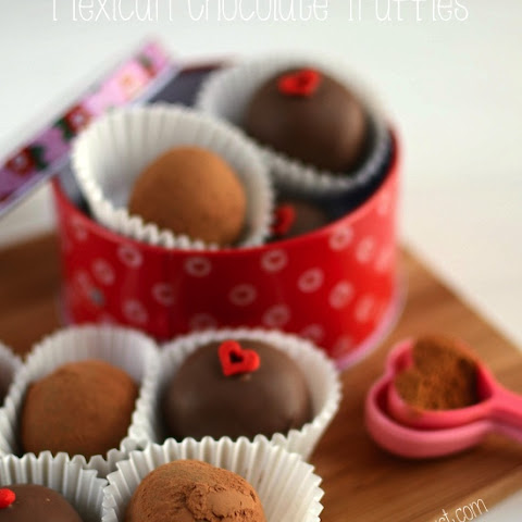 Mexican Chocolate Truffles