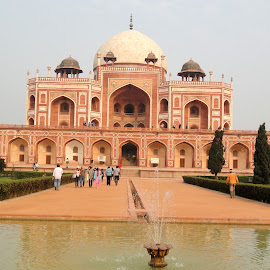 The Humayun's Tomb............... by Soutik Halder - Buildings & Architecture Statues & Monuments ( taj mahal, india, architecture, delhi_tour, mughal )