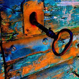 old door by Darko Čaleta - Artistic Objects Other Objects