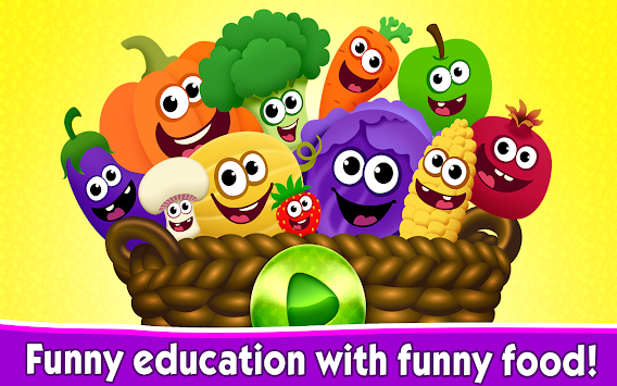 Funny Food Games For Toddlers! APK screenshot thumbnail 11