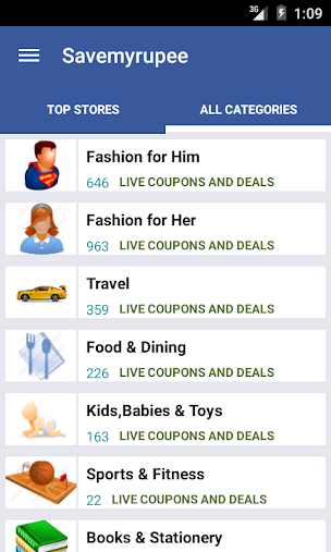 SaveMyRupee - Coupons & Deals APK