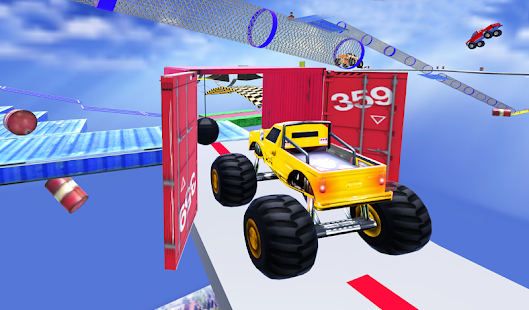 Monster Truck Stunt-Rennen: Unmögliche Track-Spiele android spiele download