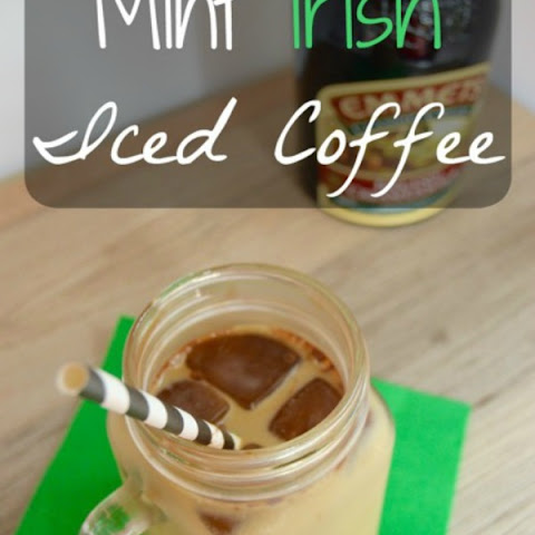 Mint Irish Iced Coffee