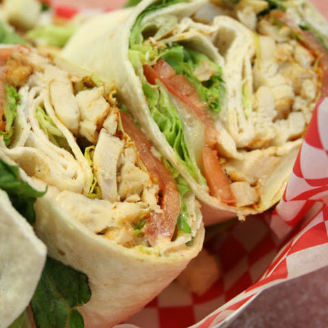 Weight Watcher Cajun Chicken Wrap