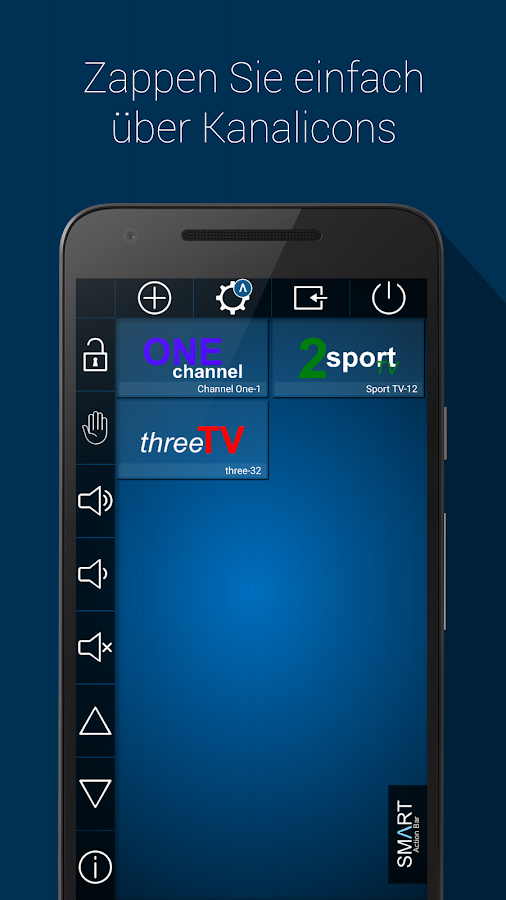 Smart TV Remote – Screenshot