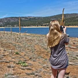 Adventurous Girlfriend by Braidon Everts - People Couples ( love, canon, california, travel )