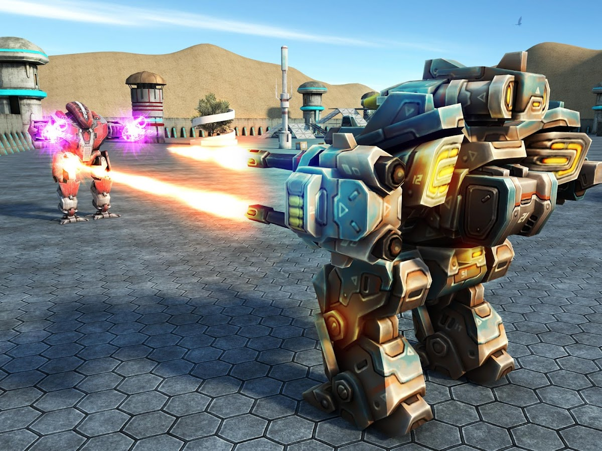 Mech Robot War 2050 Screenshot 7