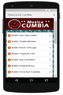 Musica De Cumbia - screenshot