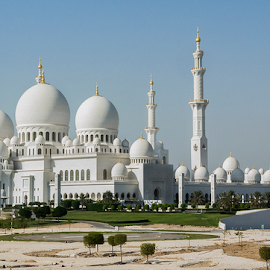 Grand Mosque by Aaron Trice - Buildings & Architecture Places of Worship ( church, mosque, grand mosque     pwcarcreflections     details     uae     reflections     abu dhabi     architecure, tirceaaronphotography )