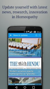 HomeoApp - for every Homeopath screenshot for Android