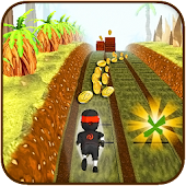 Download Subway Run Ninja Rush APK on PC