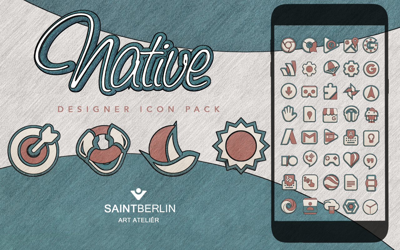Native Icon Pack Natural Art Screenshot 8