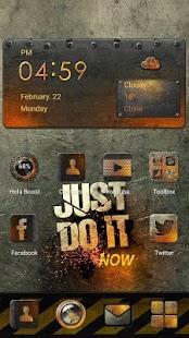 App Tema Metallic Burn for Sumsung APK for Windows Phone