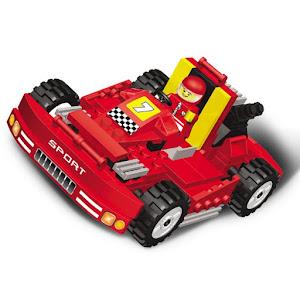 """Конструктор SuperBlock """"Большие гонки"""" Супер машина XL"""