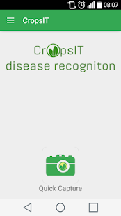CropsIT diagnostic - screenshot