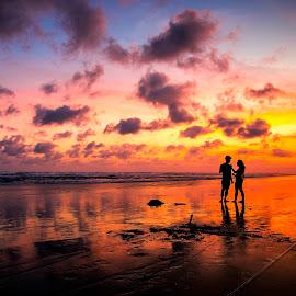 Romantic Time by Muhammad Yoserizal - Digital Art People