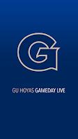 Screenshot of GU Hoyas Gameday LIVE