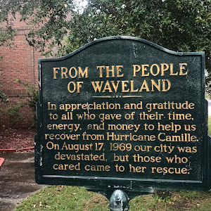 In appreciation and gratitude to all who gave their time, energy, and money to help us recover from Hurricane Camille. On August 17, 1969 our city was devastated, but those who cared came to her ...