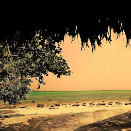 Breath... by Moumita DuttaRoy - Landscapes Beaches ( waterscape, shadow, seascape )