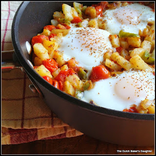 Eggs and Vegetable Hash
