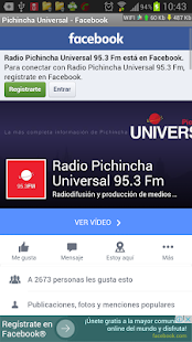 Radio Pichincha Universal - screenshot