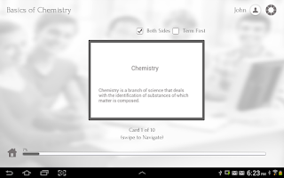 Screenshot of Learn Chemistry via Videos