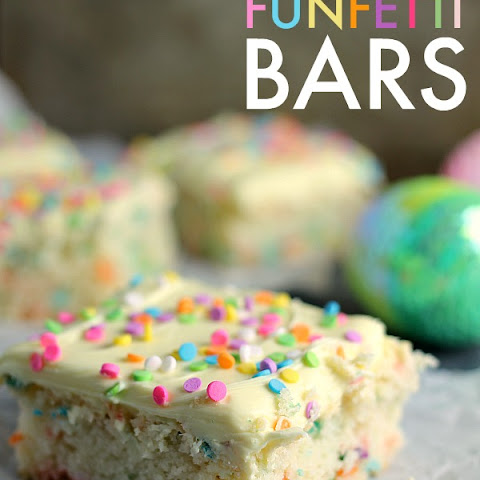 Cream Cheese Funfetti Bars