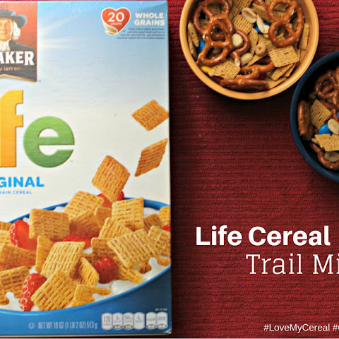 Quaker® Life Cereal Trail Mix