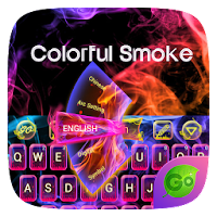 Colorful Smoke Keyboard Theme For PC (Windows And Mac)