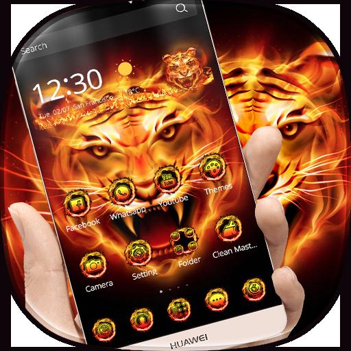 Fire Tiger Theme (app)