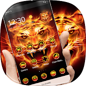 App Fire Tiger Theme APK for Kindle