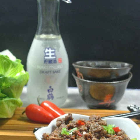 Korean Ground Beef Stir Fry