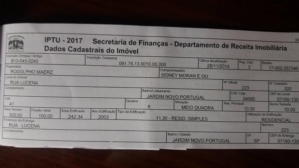 Sobrado à Venda - Jardim Novo Portugal