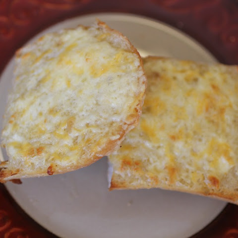 Decadent, Cheesy Garlic Bread