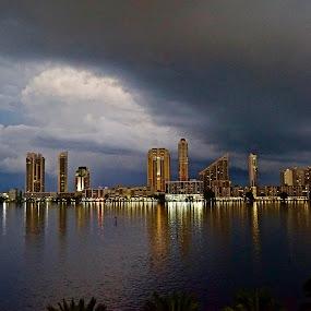 Heavy Weather by Neil Dern - Landscapes Weather ( water, weather, storm, landscape )