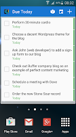 Screenshot of Chaos Control - GTD To-Do List