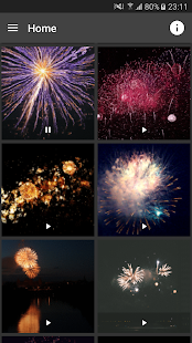 Fireworks Live (GIF) Wallpaper - screenshot