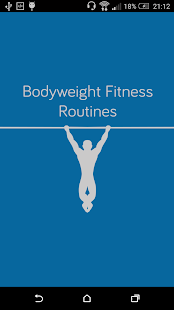 Bodyweight Fitness Routines Fitness app screenshot for Android