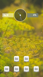 Lovely grass theme - screenshot