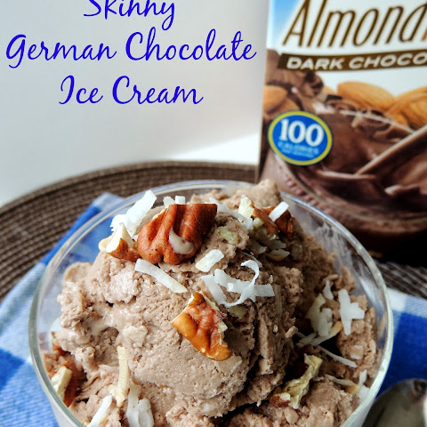 Skinny German Chocolate Ice Cream